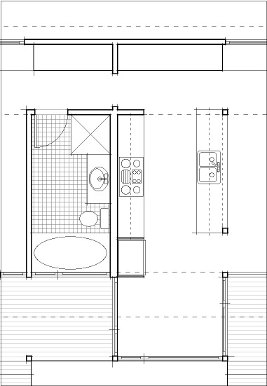 i am fleshing out the plan drawings by using line weights different thickness of lines in a technical drawing emphasize the hierarchy of information it - Drawing House Plans