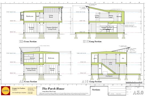 Modern House Plans by Gregory La Vardera Architect Porch House