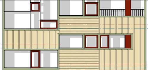 Modern House Plans by Gregory La Vardera Architect: Cube House ...