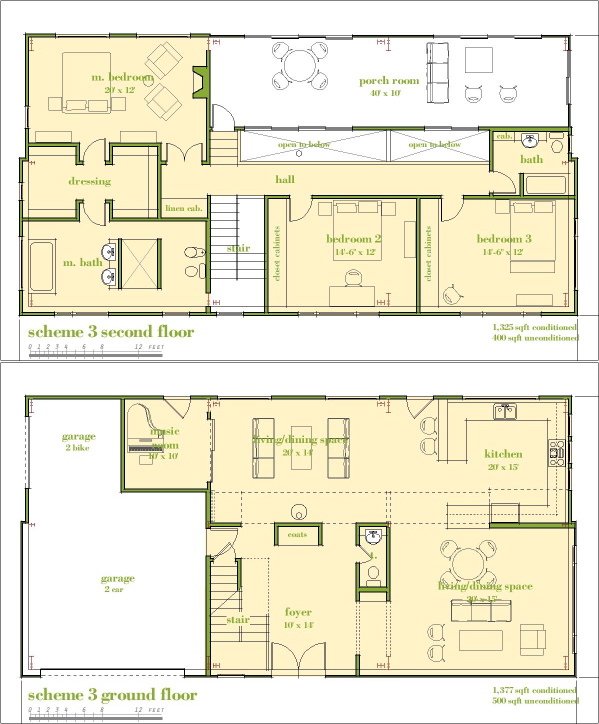 Modern House Plans By Gregory La Vardera Architect House - Master bedroom and bathroom floor plans