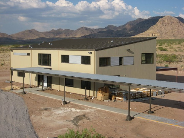 Modern house 2011 new mexico ecosteel house more photos for Ecosteel homes