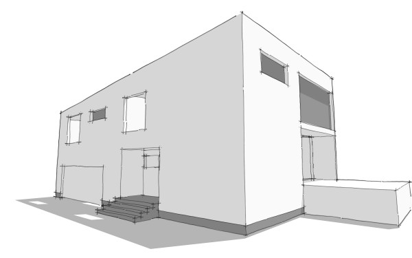 Modern House Plans by Gregory La Vardera Architect December 2008