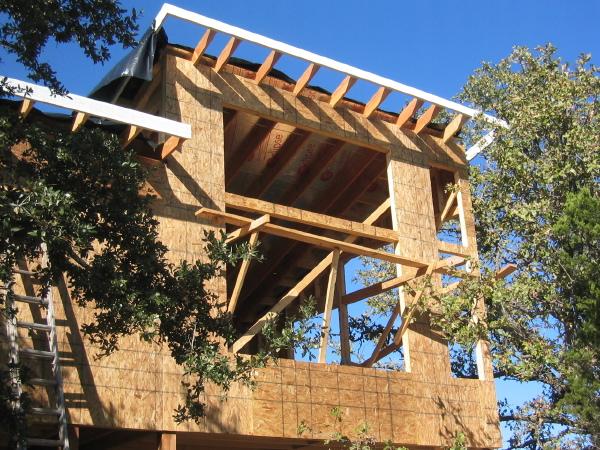 Modern House Plans by Gregory La Vardera Architect: Austin Porch ...