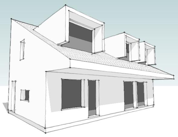 Modern House Plans By Gregory La Vardera Architect December 2009