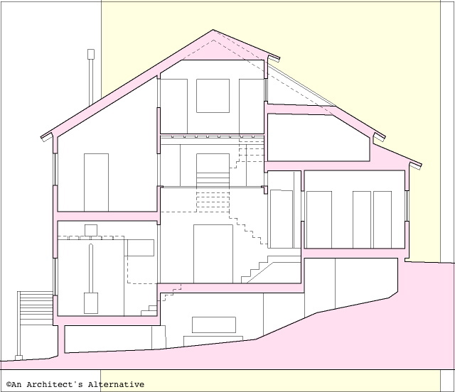 House Sectional Drawing