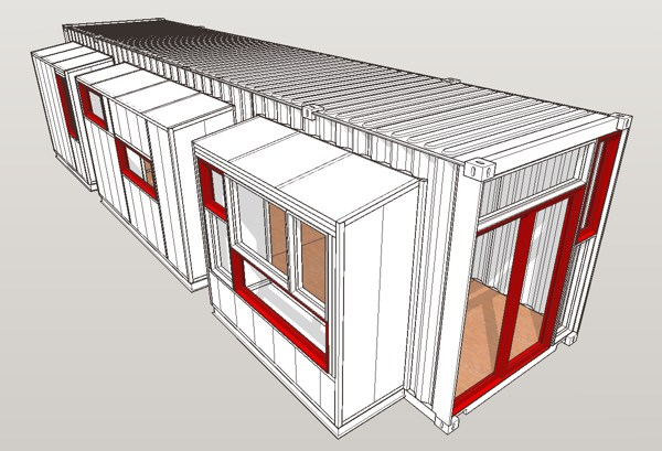 Container Homes Plans and Designs
