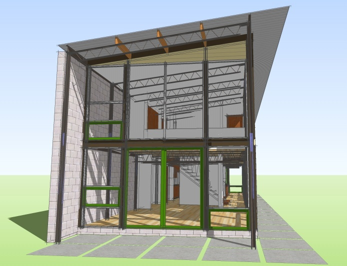 Termit steel steel frame house plans steel frame house for Steel frame home plans