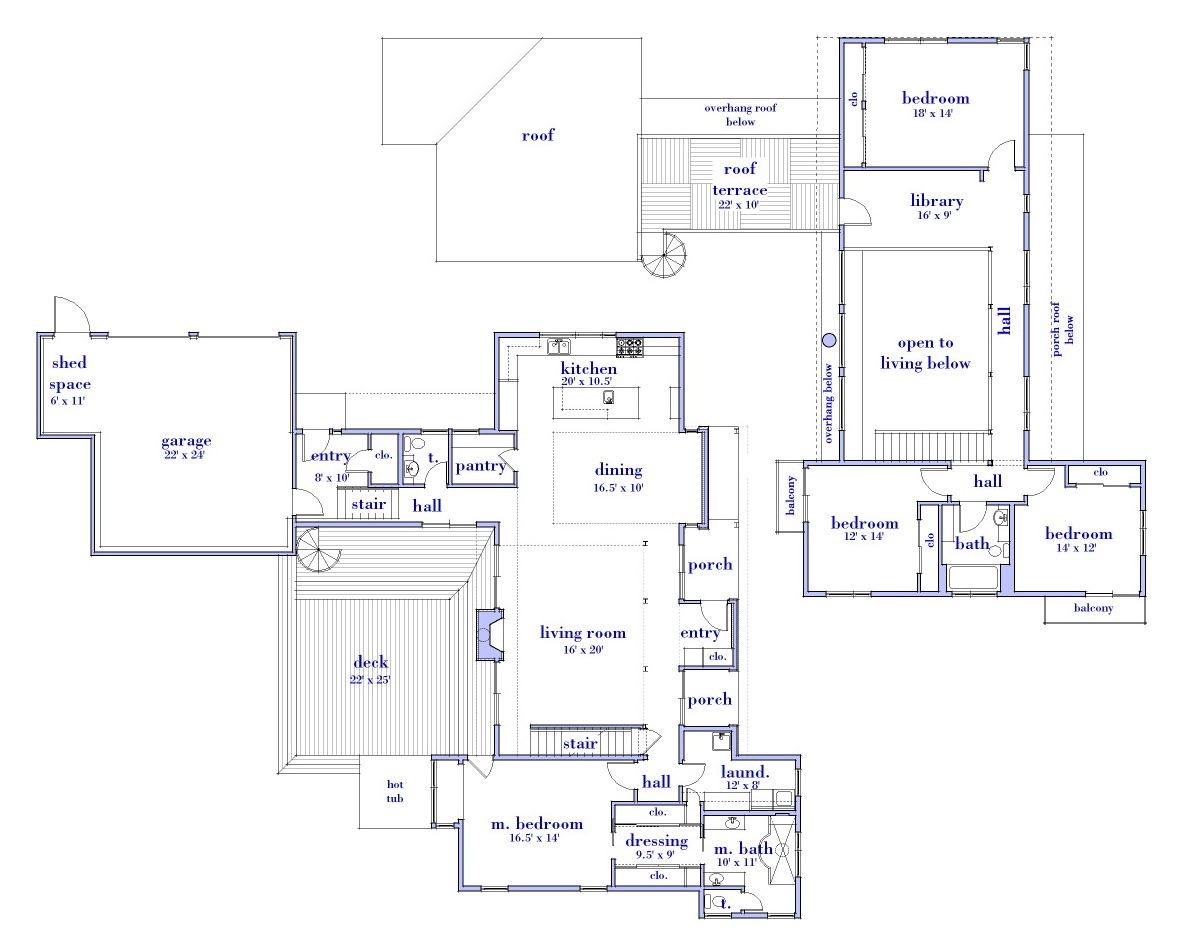 House Plans Prints House Of Samples