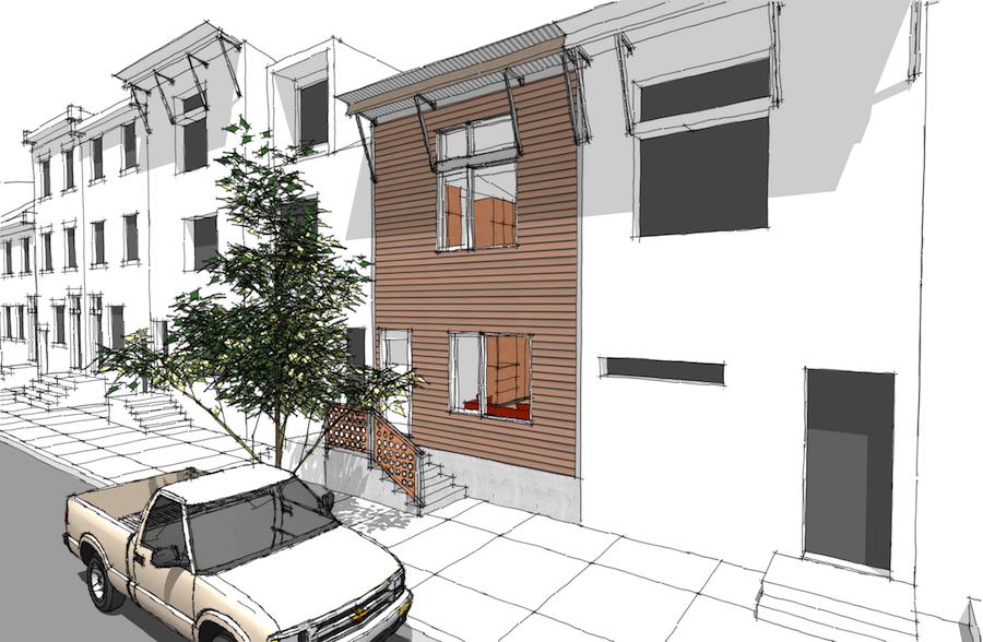 Modern Infill House Plans House Plans